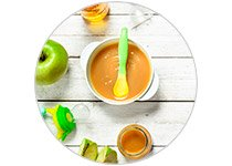 Baby Food Jars and Dishes